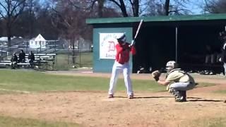 Drew Holmes 2011-2012 DeMatha Stags Baseball Highlights