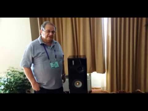 Nola's Metro Grand Reference Gold Loudspeakers @ RMAF 2013