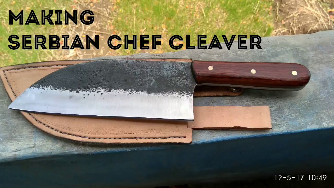 making serbian chef knife  YouTube