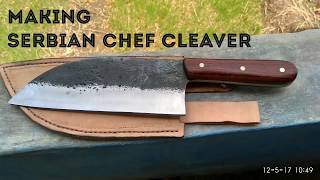 Download making serbian chef knife Mp3 and Videos