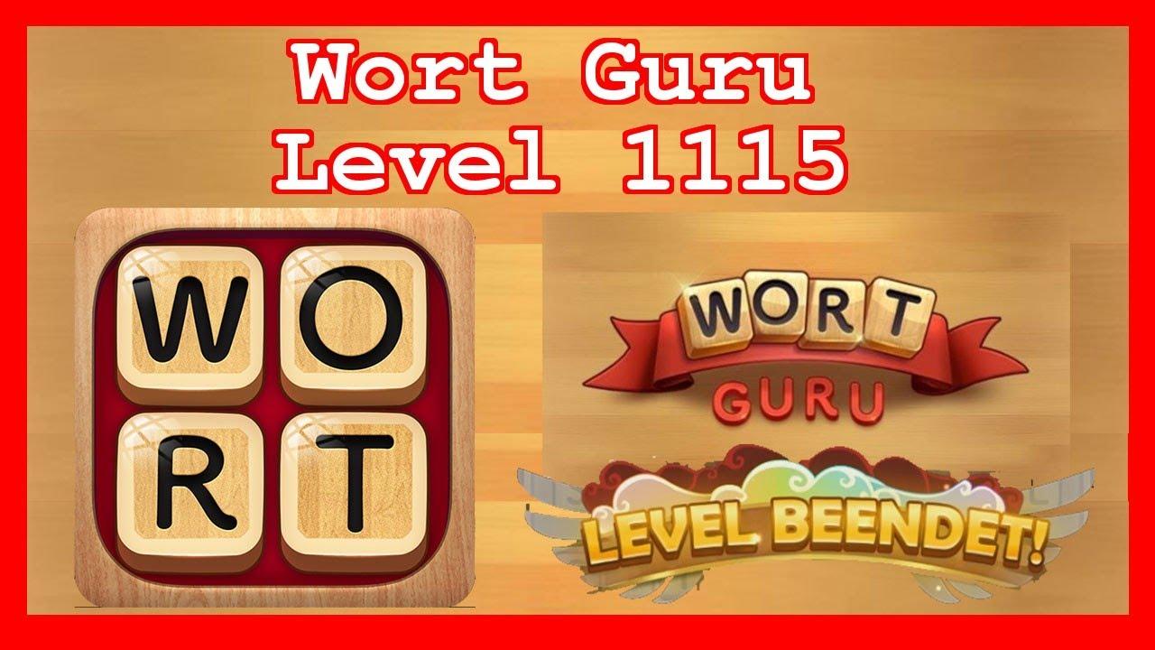 Wort Guru - Level 1115 (UPDATE: Februar 2019) - Lösung