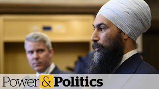 Liberals saying 'wait and see' in budget, says NDP's Singh | Power & Politics