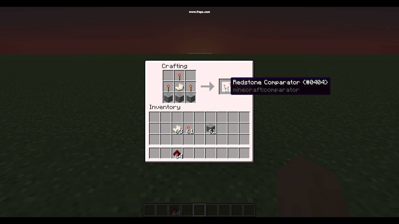 How To Craft A Repeater In Minecraft