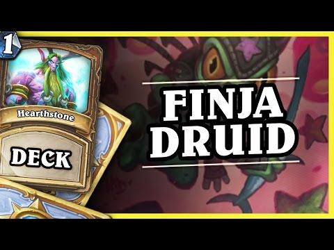 FINJA DRUID 1/2 - HEARTHSTONE DECKS STANDARD 2016