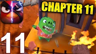 ANGRY BIRDS EVOLUTION Walkthrough Gameplay Part 11 - Chapter 11 The SnowBomb! (iOS Android)