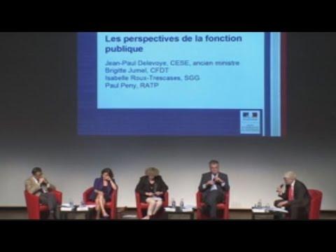 Table ronde sur les perspectives de la fonction publique