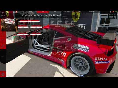 Racing Assetto Corsa online on public servers