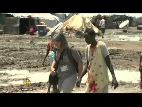 South Sudan displaced face threats in camps