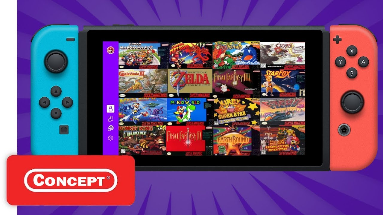 Introducing Snes Games On Nintendo Switch Online