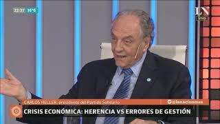 Carlos Pagni entrevista a Carlos Heller, presidente del Partido Solidario - Odisea Argentina