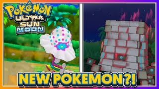 Pokémon Ultra Sun & Ultra Moon - BRAND NEW POKEMON REVEALED?!