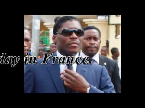Equatorial Guinea Vice President docked in France