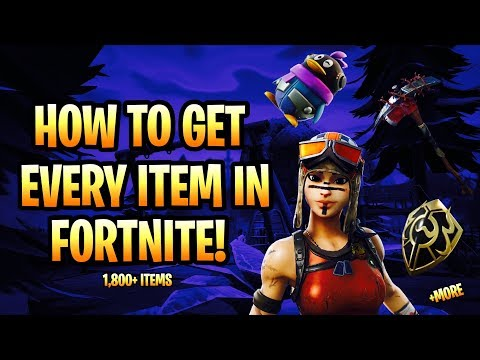 HOW TO GET EVERY ITEM IN FORTNITE FOR FREE! | *OG SKINS* | Fortnite Battle Royale