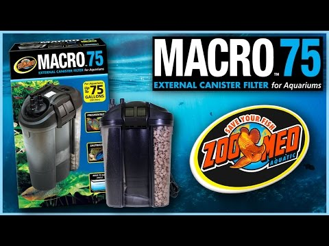 Zoo Med Macro™ 75 External Canister Filter