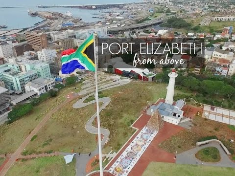 Port Elizabeth From Above - View From A Drone