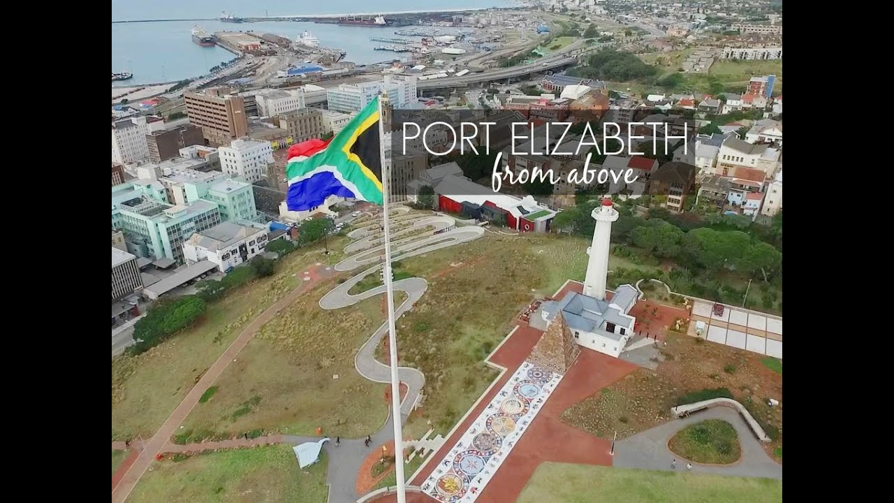 Port elizabeth from above view from a drone youtube - What to do in port elizabeth south africa ...