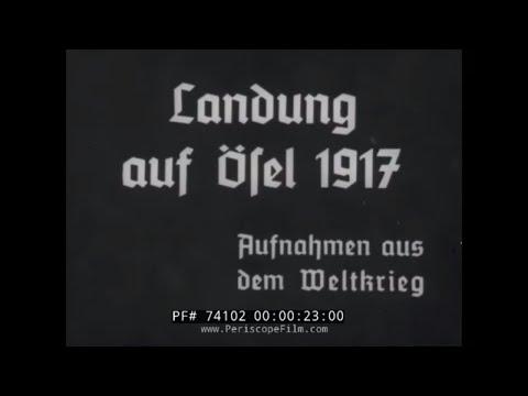 "GERMAN INVASION OF ESTONIA 1917 ""OPERATION ALBION"" WORLD WAR I  74102"