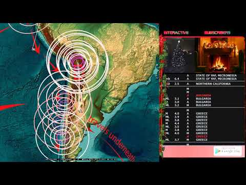12/08/2017 -- Multiple M6.0 to M6.5 Earthquakes strike West Pacific -- Sudden unrest outbreak