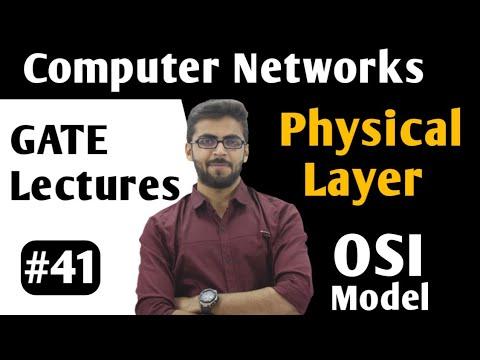 OSI Model Physical Layer | OSI model in hindi | OSI model in computer networks in hindi