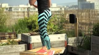 Comment maigrir rapidement des jambes avec Marine Leleu┃ELLE Fitness