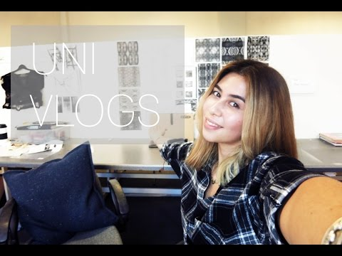IM MAKING A COLLECTION | Fashion Design at University Vlog #1