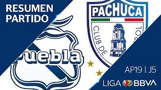 Resumen Y Goles | Puebla Vs Pachuca | Liga Bbva Mx - Apertura 2019 - Jornada 5