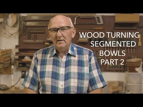 Wood Turning Segmented Bowls part 2