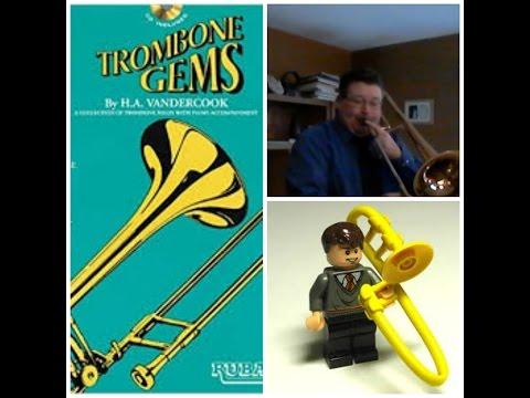 Trombone Solo Ruby by H.A. Vandercook from Trombone Gems