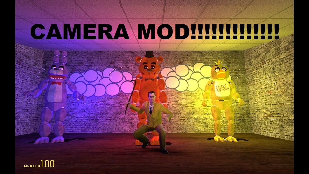 Fnaf camera mod gmod mod 1 youtube