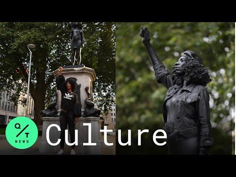 Black Lives Matter Sculpture Replaces Slave Trader Statue in Bristol