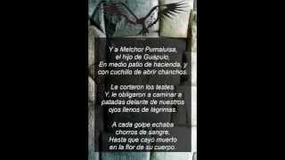 Beto Mendez - Boletin y Elegia de las Mitas.wmv - Letra -