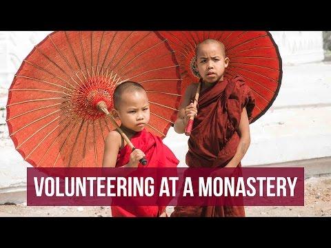 Teaching Monks English in Myanmar