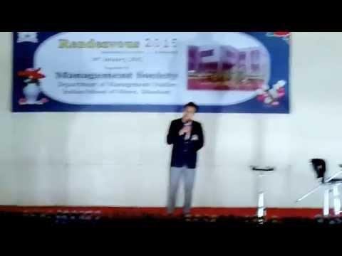 Nazrul Islam ki Shayari at Rendezvous 2015 Indian School of Mines Dhanbad