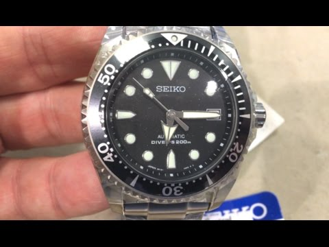 SEIKO SHOGUN REALLY is the lightest Diver!