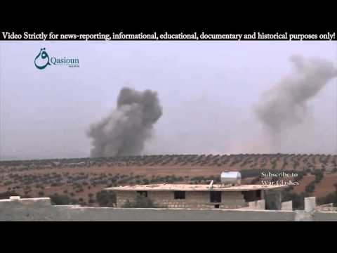 Syria War 2015 - Massive Russian AirStrikes in Over Syria  Russia Operation In Syria