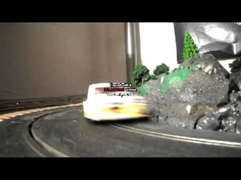 slot car rallye mountain scalextric circuit électrique  ninco off road raid carrera