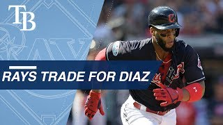 Yandy Diaz gets traded to the Rays from the Indians