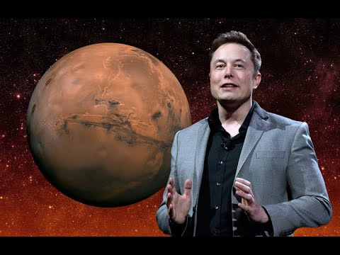 Elon Musk Reveal SpaceX's Plans To Colonize Mars