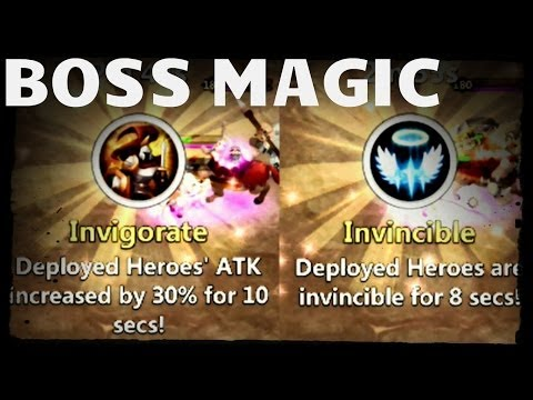 Game Update: Boss Fight - Free Revives & Magic - Castle Clash D135