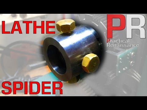 Making a Spider for the Mini Lathe