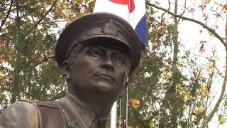 В Севастополе открыли памятник герою Великой отечественной войны Астану Кесаеву