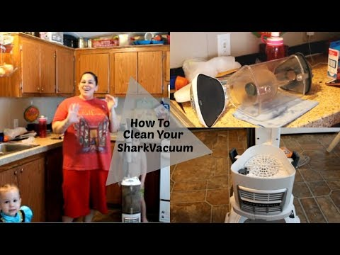 HOW I CLEAN MY SHARK LIFT AWAY NAVIGATOR