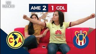 ¡REMONTADA EN DOS MINUTOS! REACCIÓN AL AMÉRICA VS CHIVAS (2-1) | Dúo Dinámico
