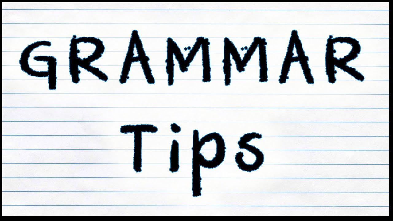 Tips on English Grammar in Hindi