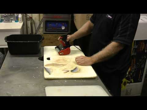 Viral Tool Review Power Fish Cleaning With The Skinzit By Perry Parks Signed Ted Takasaki