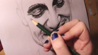 Drawing Brendon Urie - Panic! At The Disco Video