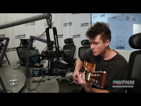 ALEC BENJAMIN - (live) THE WATER FOUNTAIN - WE FOUND NEW MUSIC with GRANT OWENS