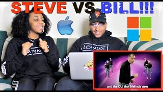 "Epic Rap Battles of History ""Steve Jobs vs Bill Gates"" Reaction!!!"