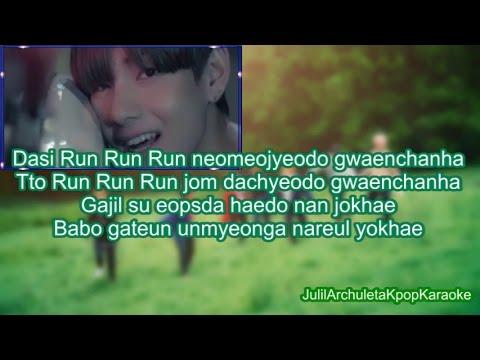 BTS (방탄소년단) RUN - KARAOKE/INSTRUMENTAL