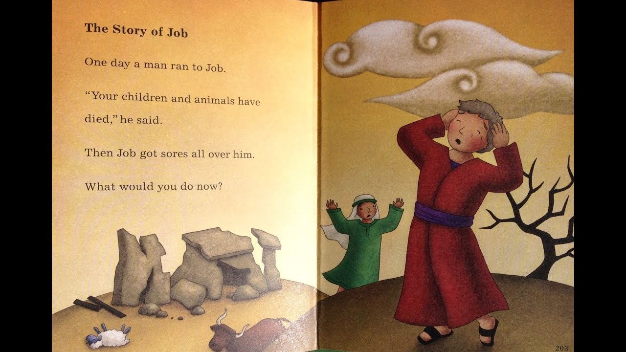 Children's Bible Stories -The Story of Job, Toddlers #49 -2 Fish Talks